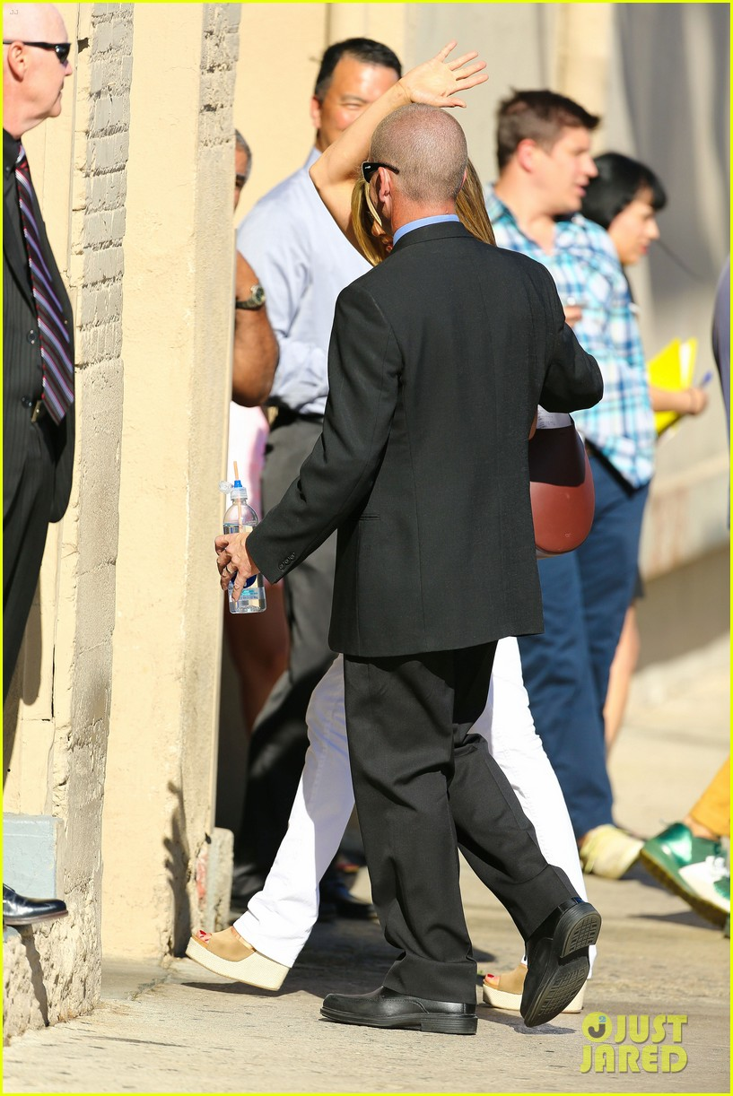 jennifer aniston jimmy kimmel live 15