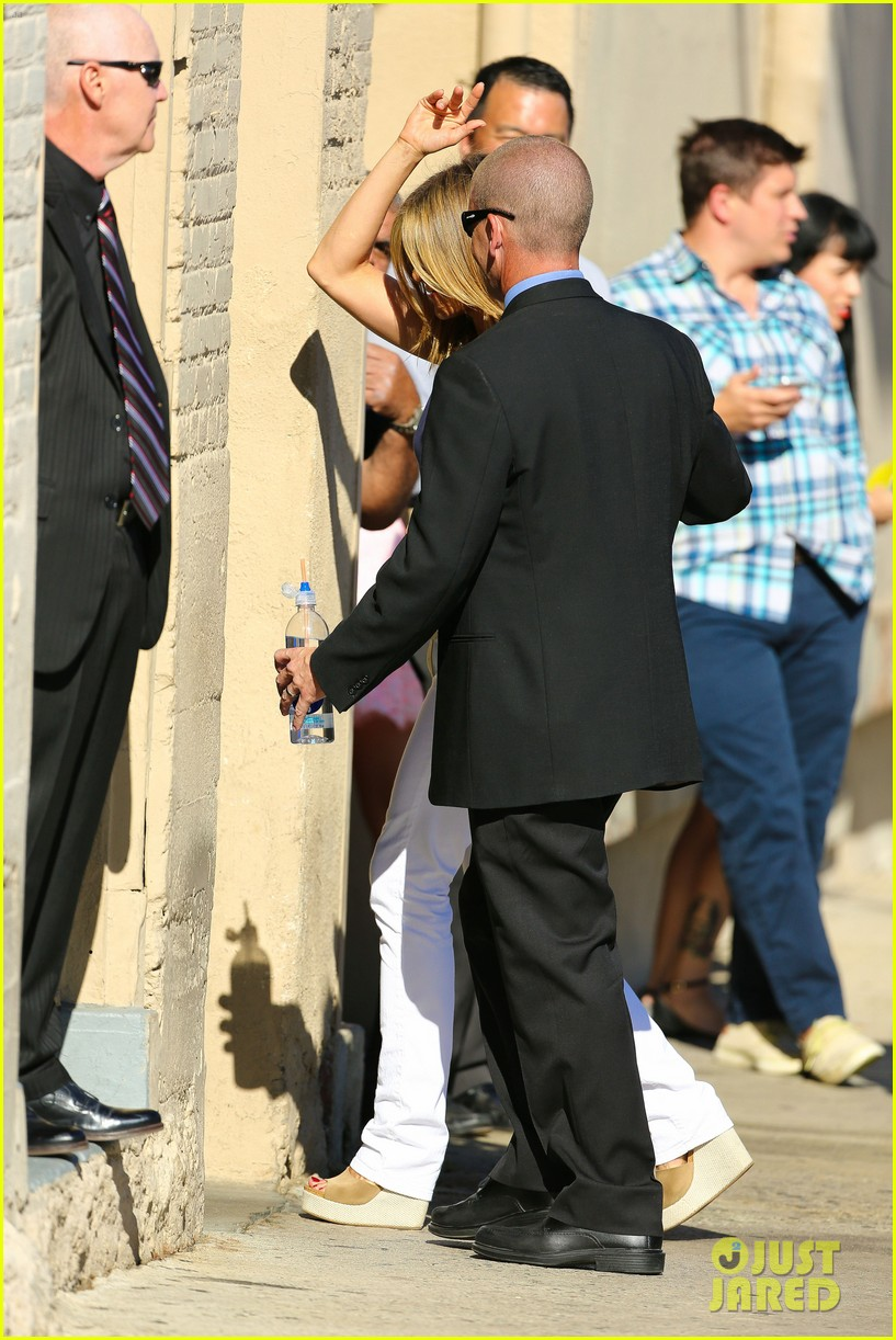 jennifer aniston jimmy kimmel live 16