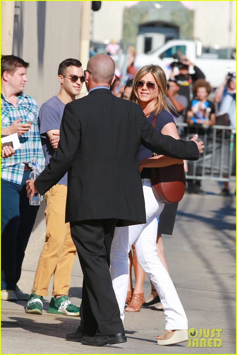 jennifer aniston jimmy kimmel live 18