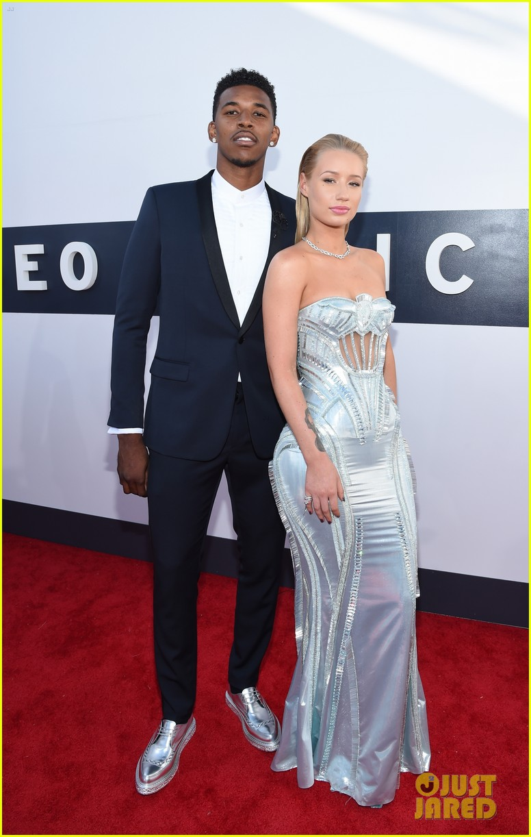 iggy azalea nick young mtv vmas 2014 053182330