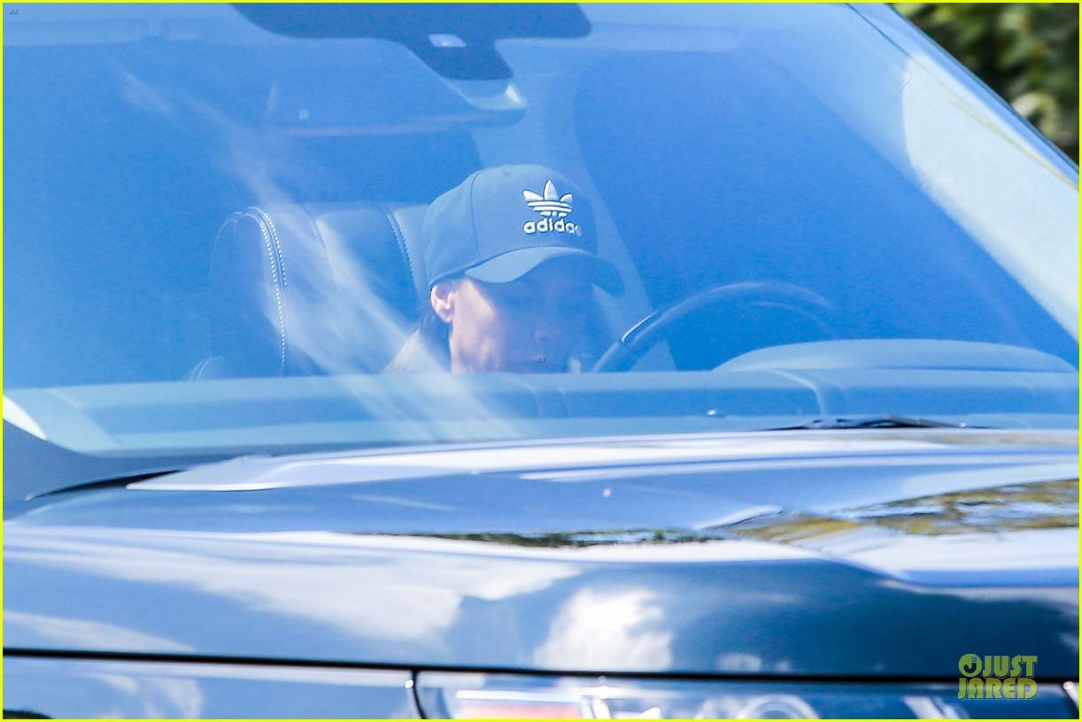 david victoria beckham wear matching hats 083181340