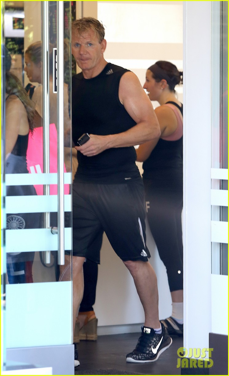 david victoria beckham work out with their family 083182841