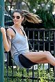 gisele bundchen tom brady play soccer at the park 04