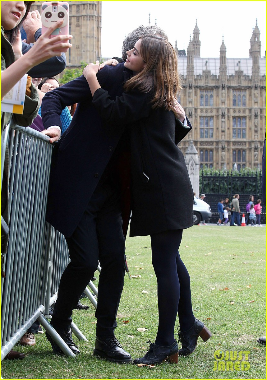 jenna coleman peter capaldi bbc itv photo call london 03