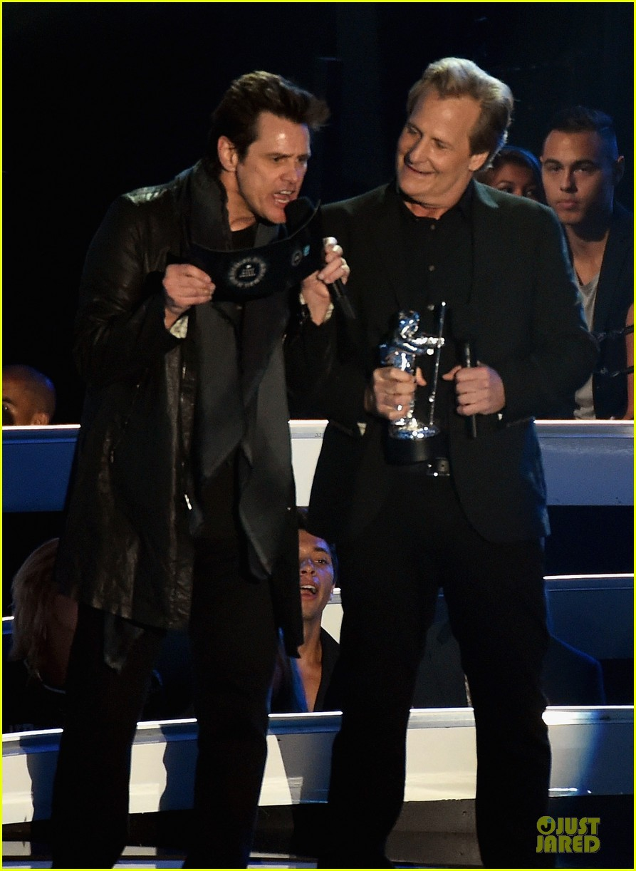 jim carrey jeff daniels mtv vmas 2014 01