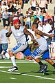 chris brown karrueche tran celebrity flag football game 10