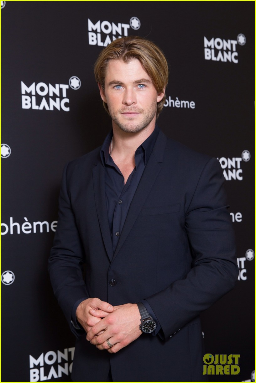 chris hemsworth montblanc boheme collection launch shanghai 033186606