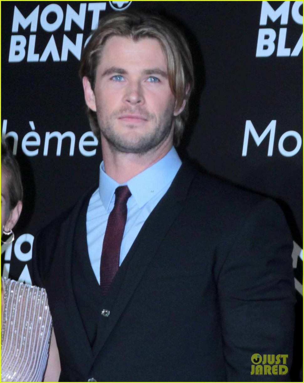 chris hemsworth montblanc boheme collection launch shanghai 04