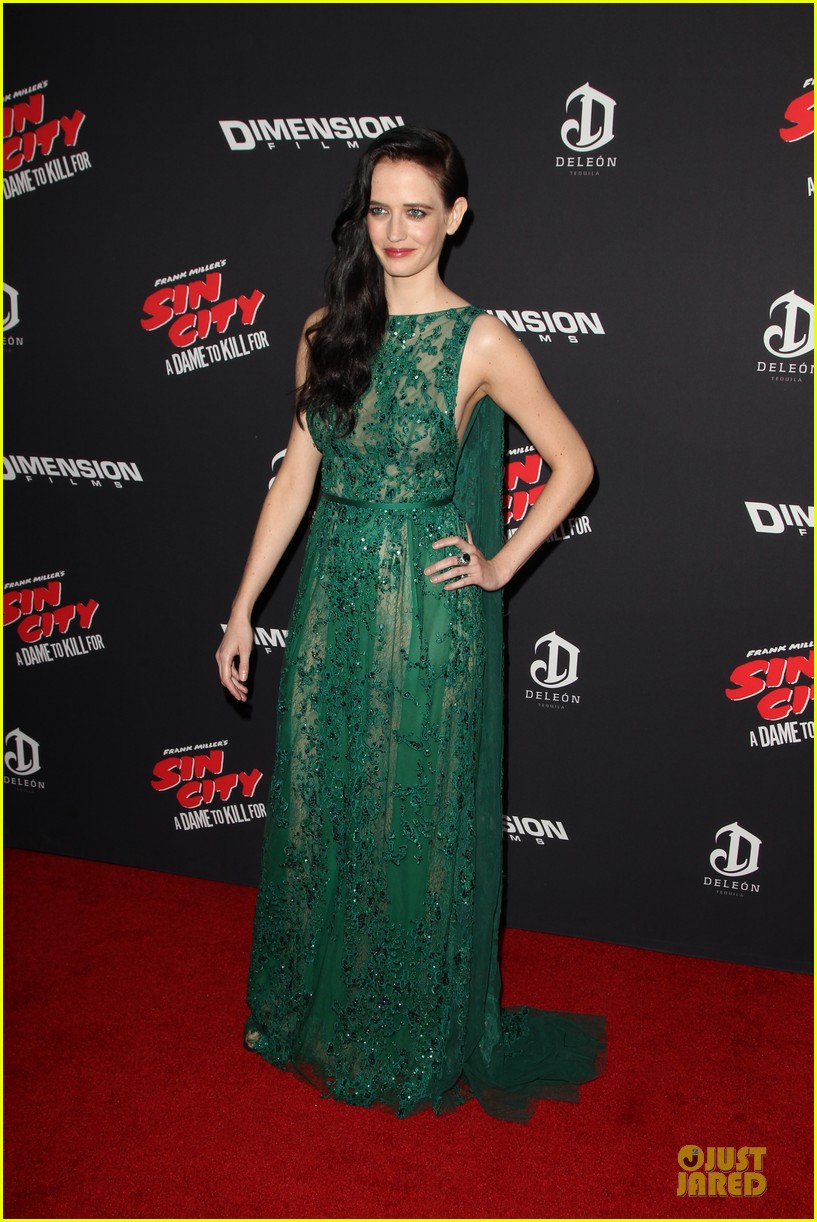 rosario dawson eva green sin city a dame to kill for premiere 123179468