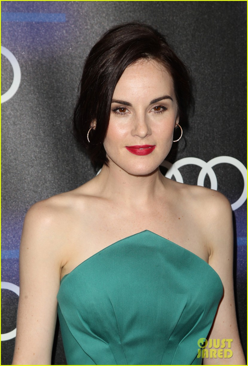 michelle dockery jessica pare audi emmys party 23
