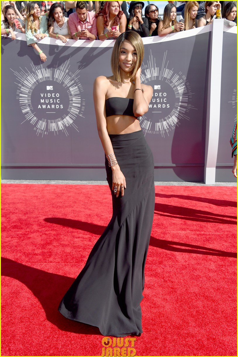 chanel iman jourdan dunn vmas mtv red carpet 06