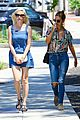 kirsten dunst knows how to wear denim dress 01