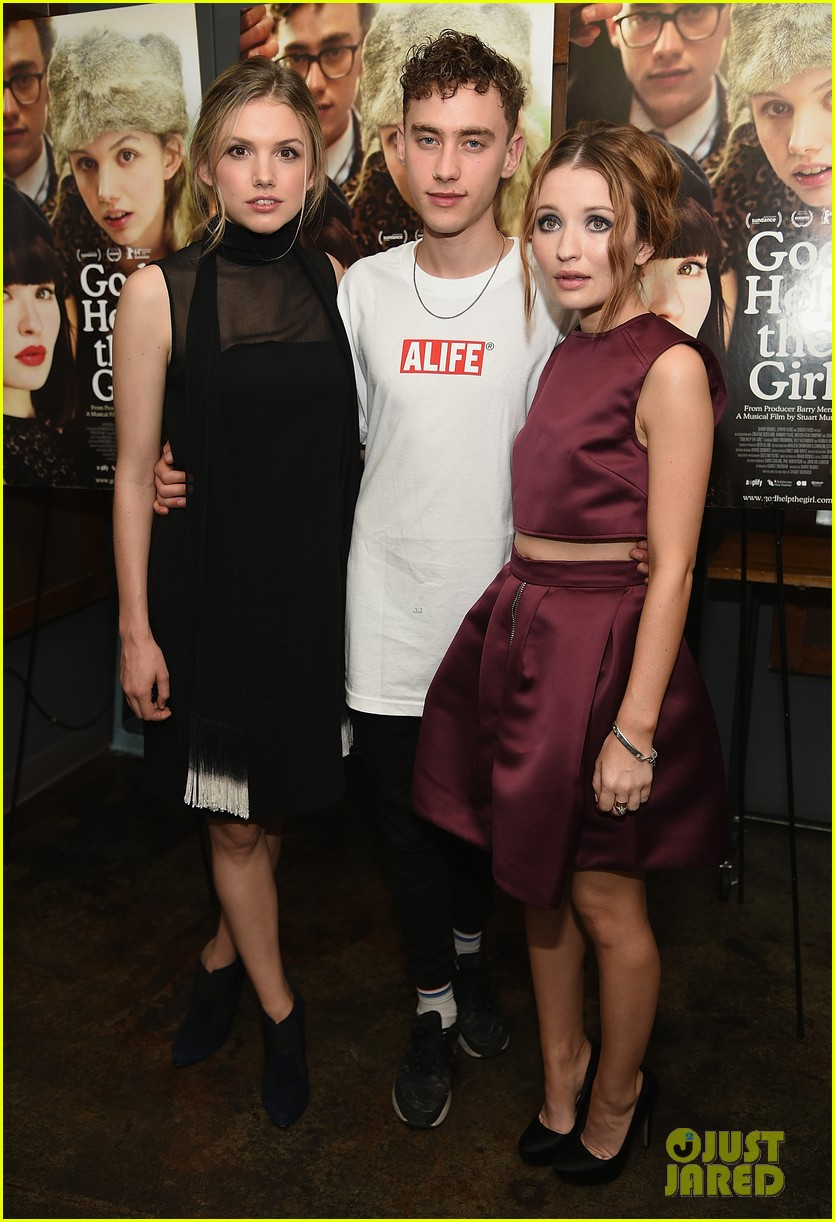 emily browning plum god help the girl nyc screening 09