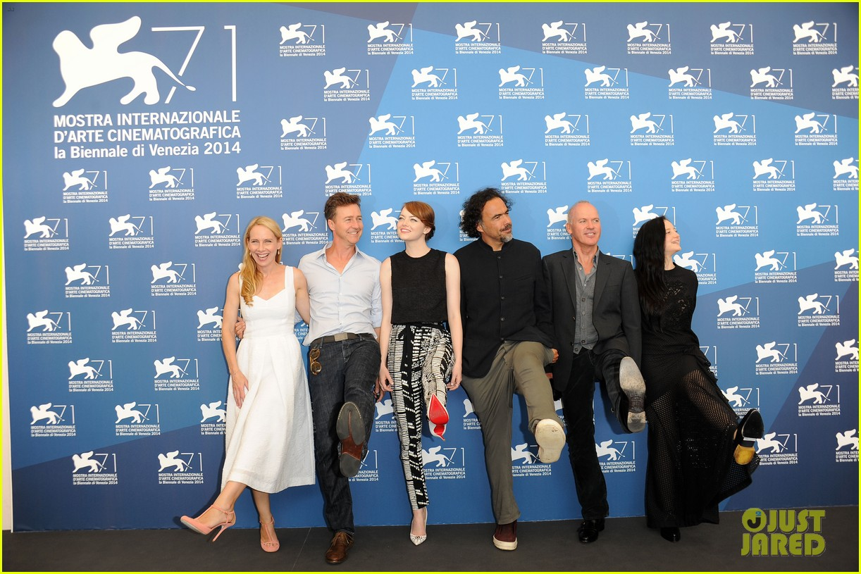 emma stone birdman photo call venice italy 10