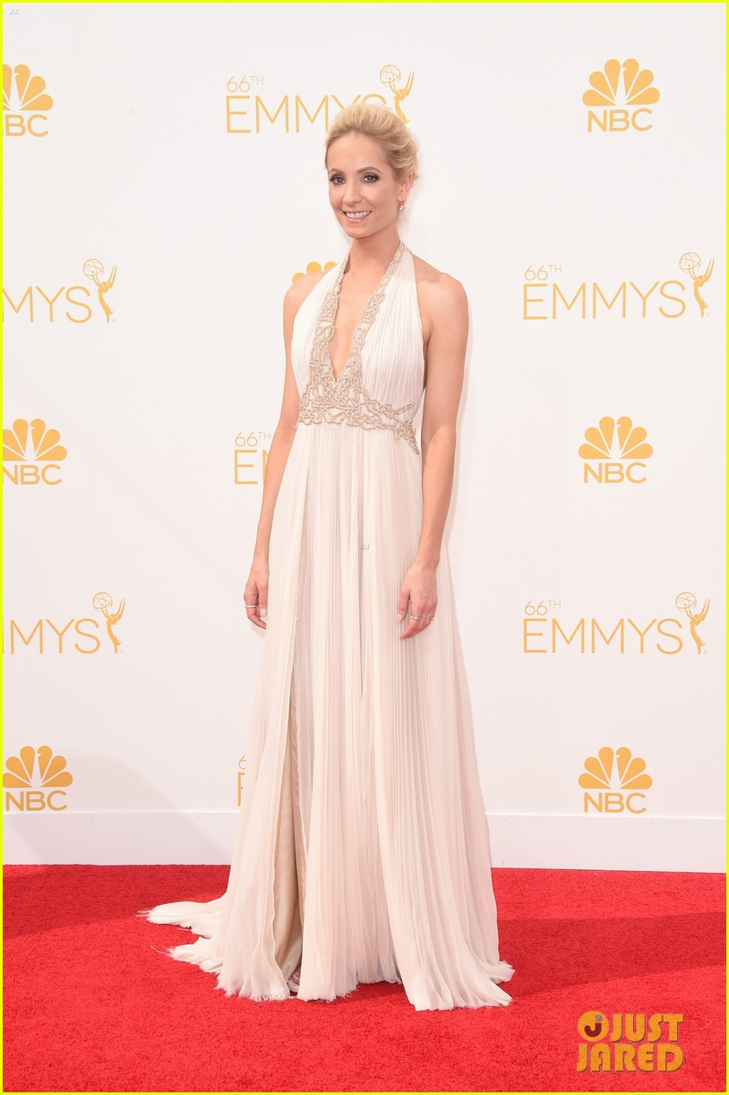 joanne froggatt brings husband james cannon to emmys 2014 013183732