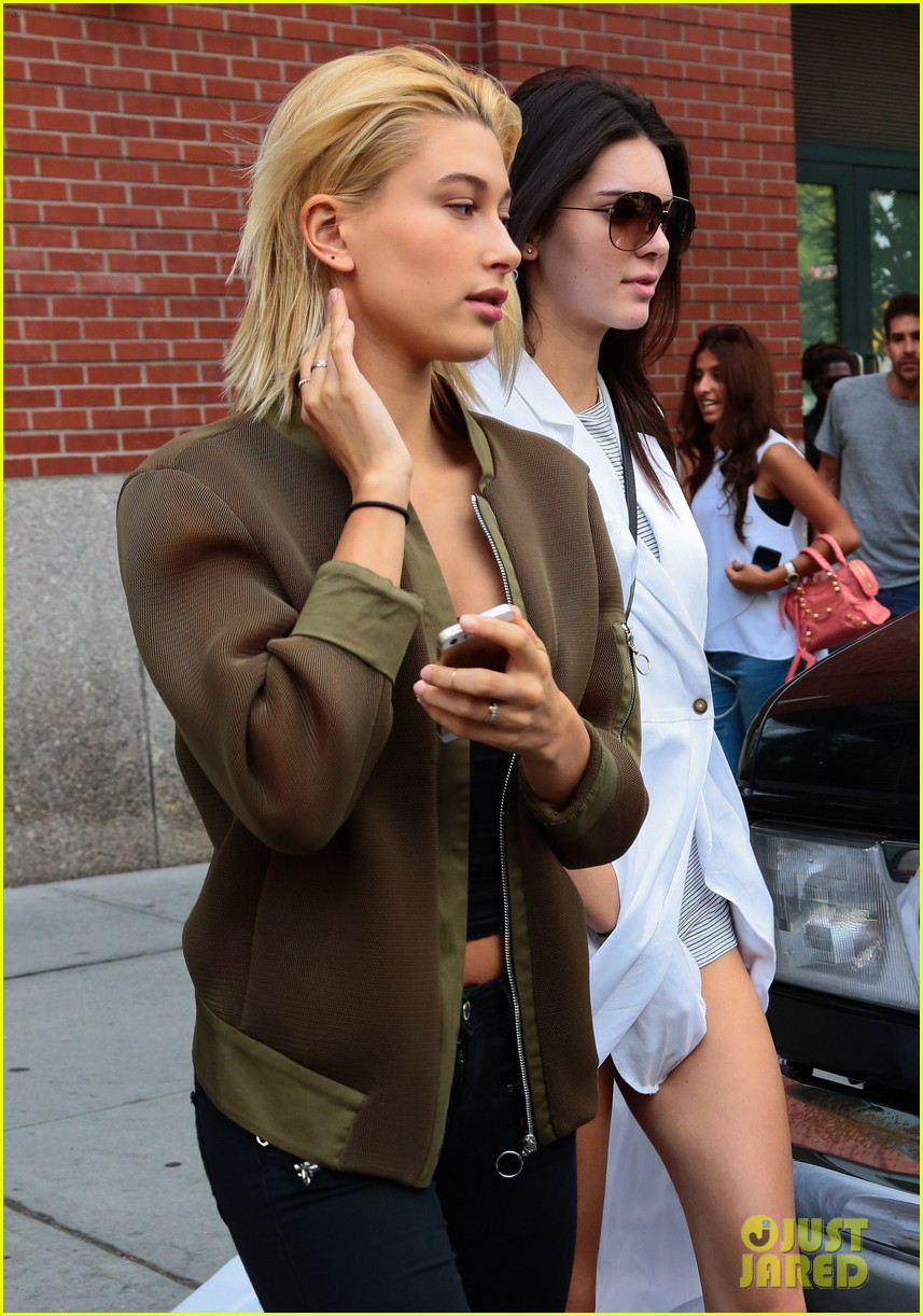kendall jenner hailey baldwin nyc again 023186837