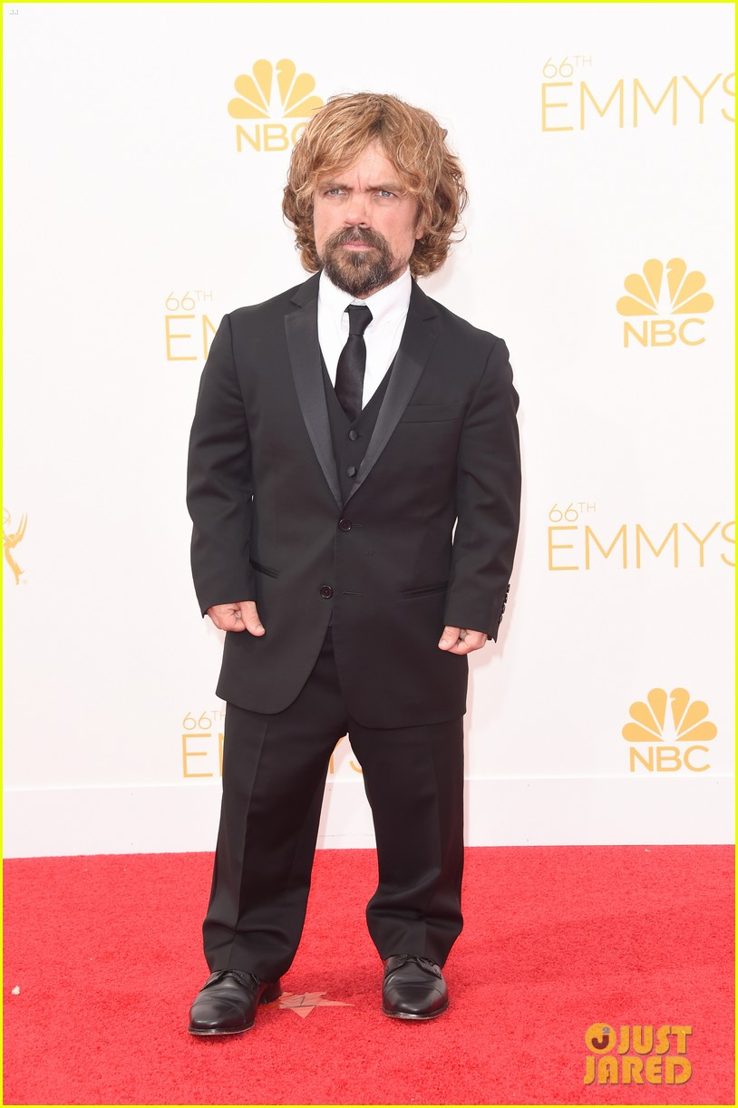 lena headey peter dinklage emmys red carpet 2014 01