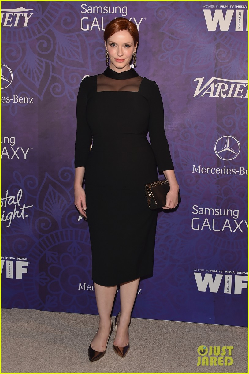 christina hendricks michelle monaghan variety emmys party 01