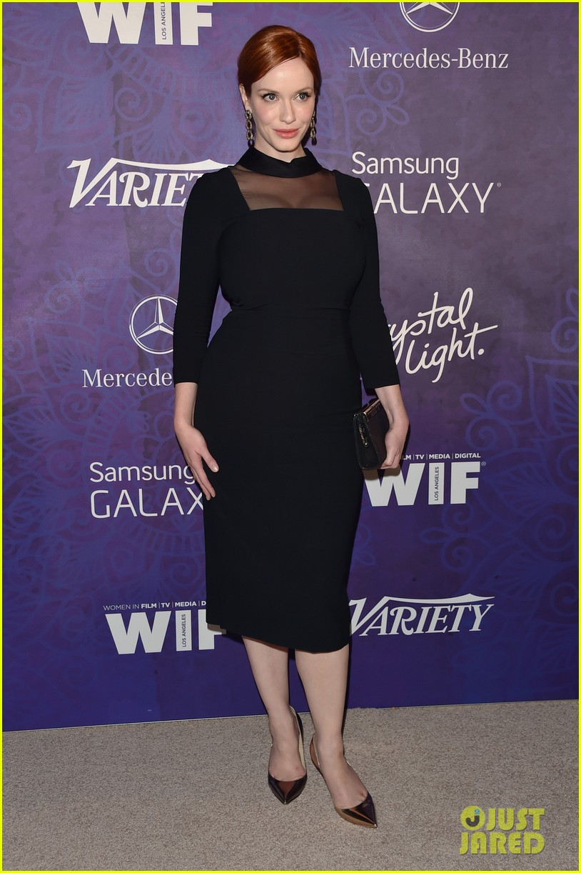 christina hendricks michelle monaghan variety emmys party 08