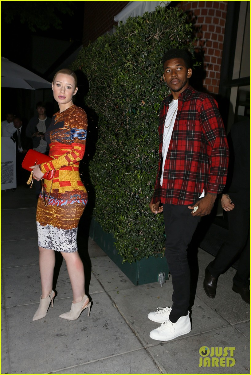 iggy azalea nick young date night on the town 123179634