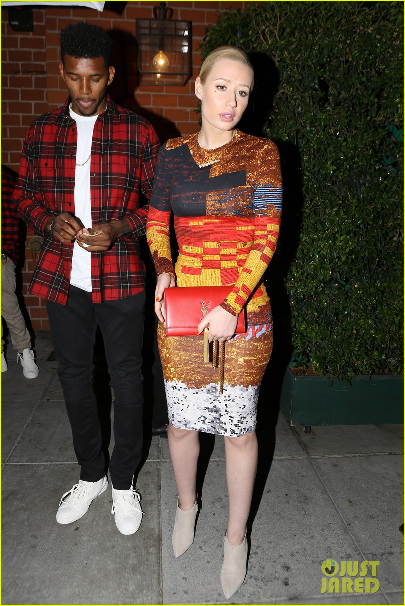 iggy azalea nick young date night on the town 13