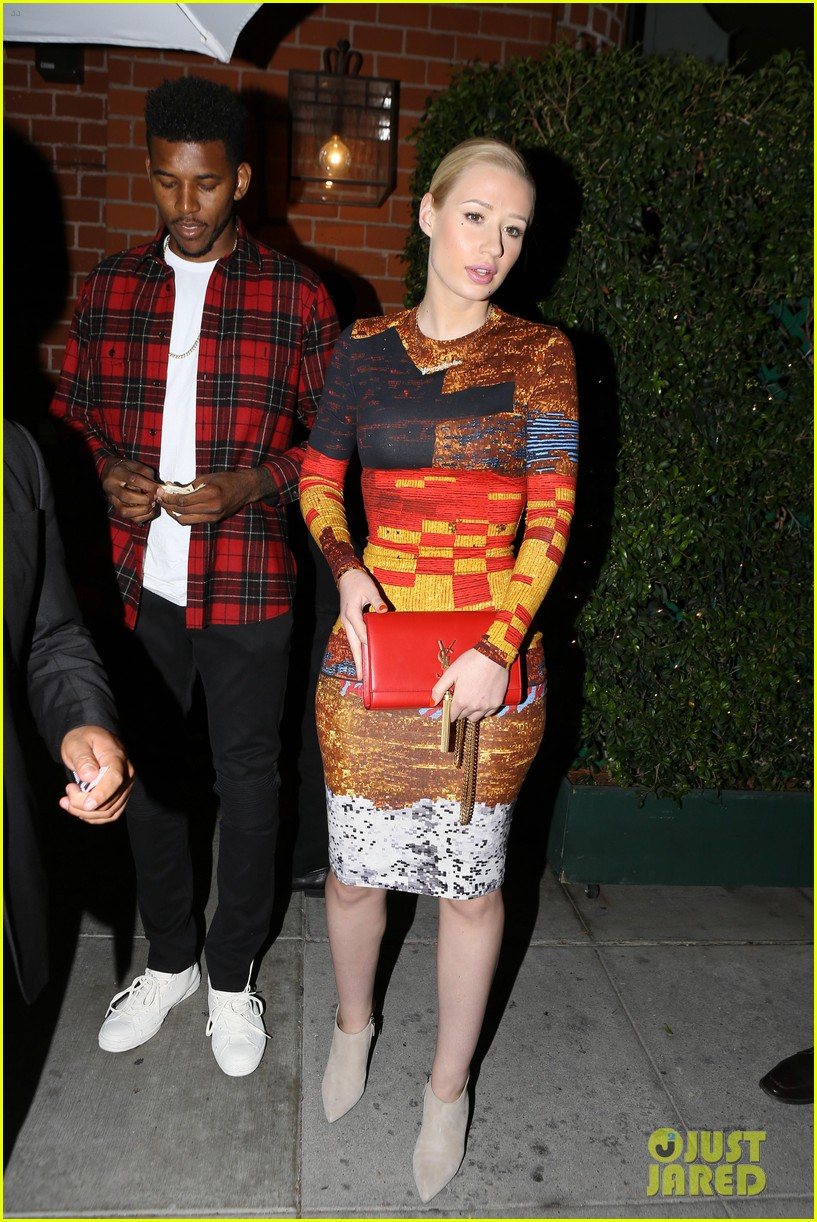 iggy azalea nick young date night on the town 163179638