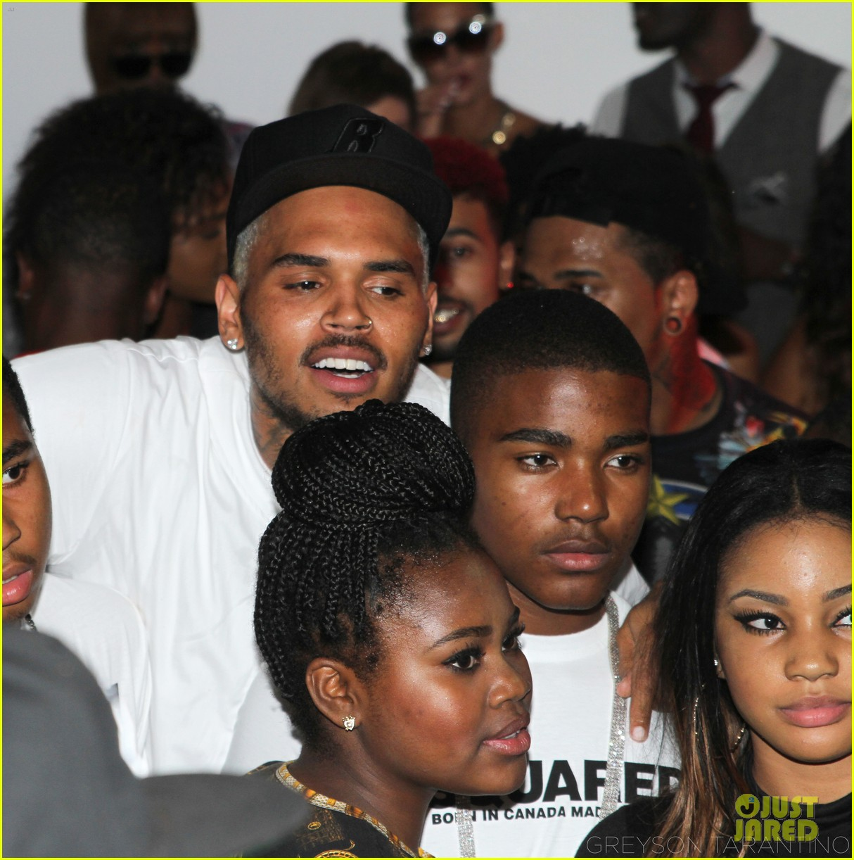 justin bieber kendall kylie jenner hit chris browns vma party before shooting 02