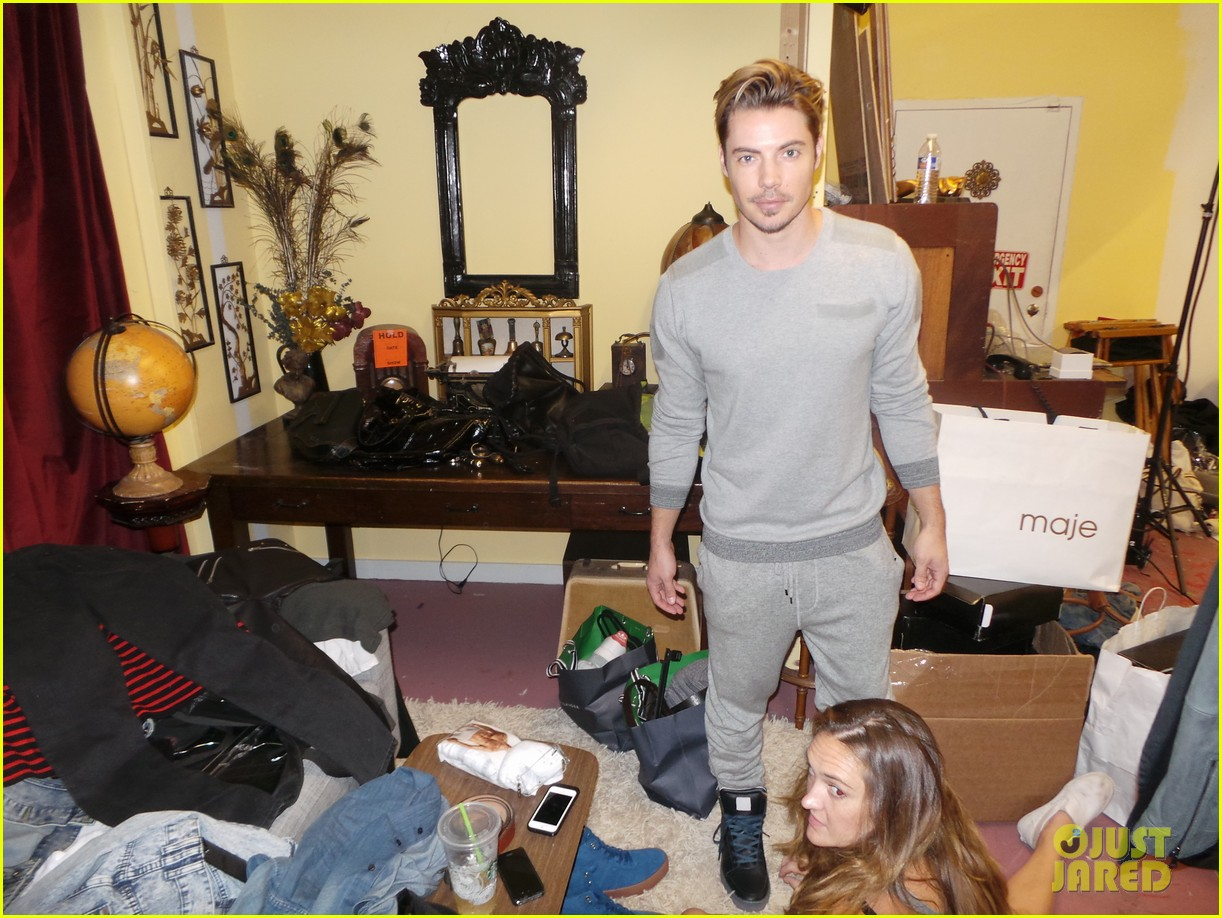 josh henderson jj spotlight behind the scenes pics 01