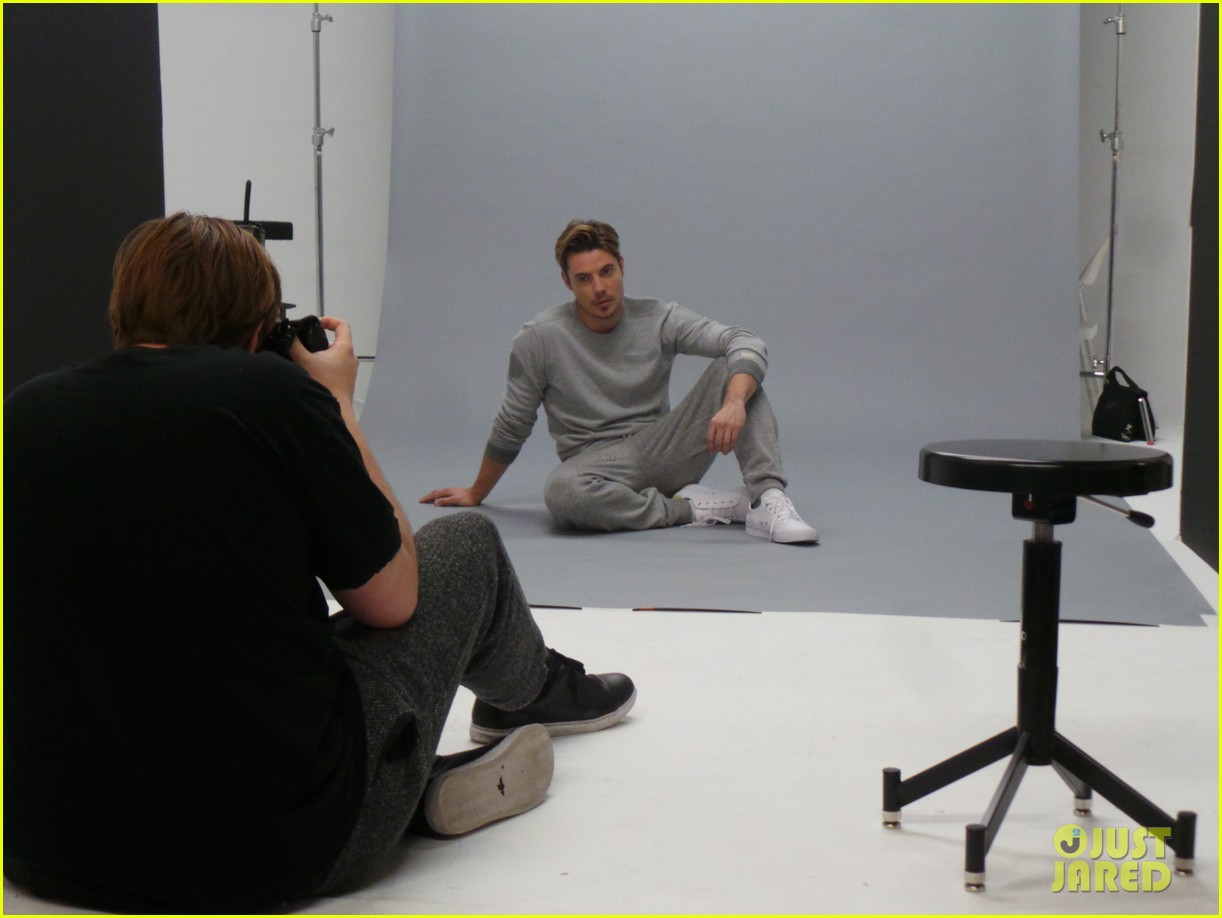 josh henderson jj spotlight behind the scenes pics 043184221