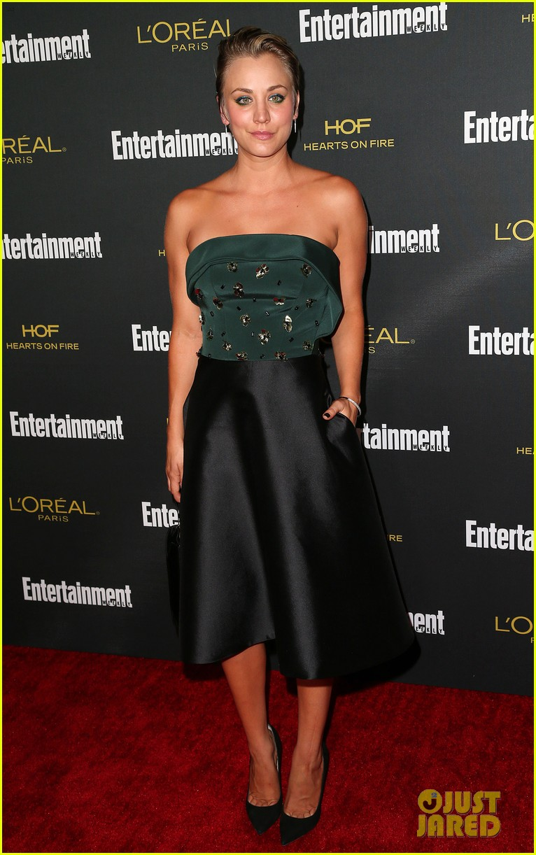 kaley cuoco ryan sweeting ew emmys party 2014 01