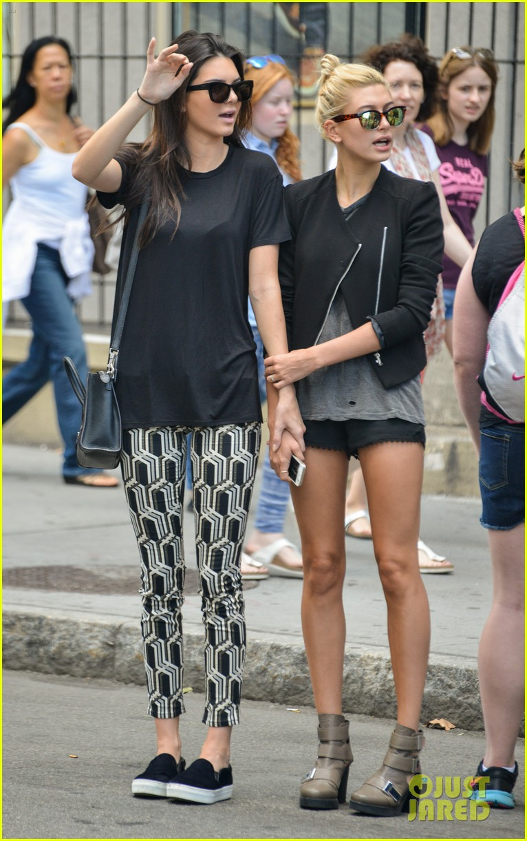 kendall jenner hailey baldwin cab just kendall now 07