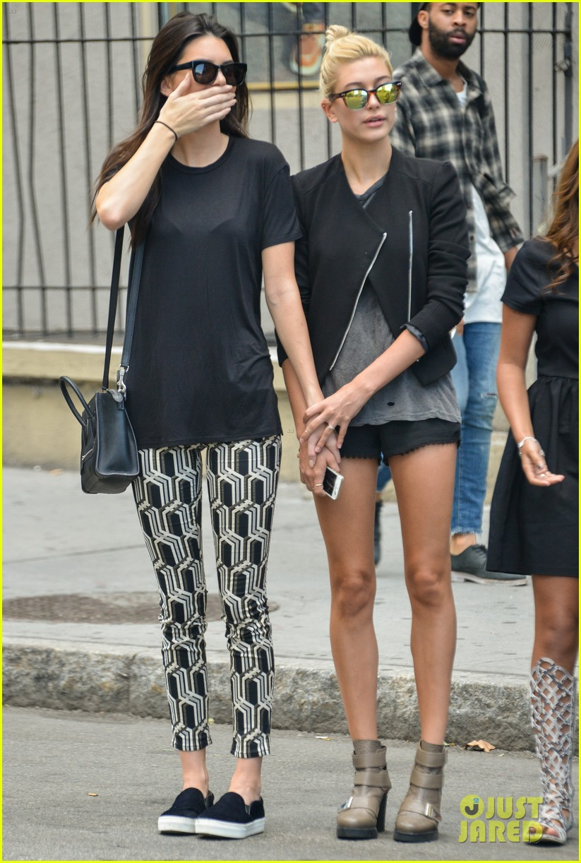 kendall jenner hailey baldwin cab just kendall now 11