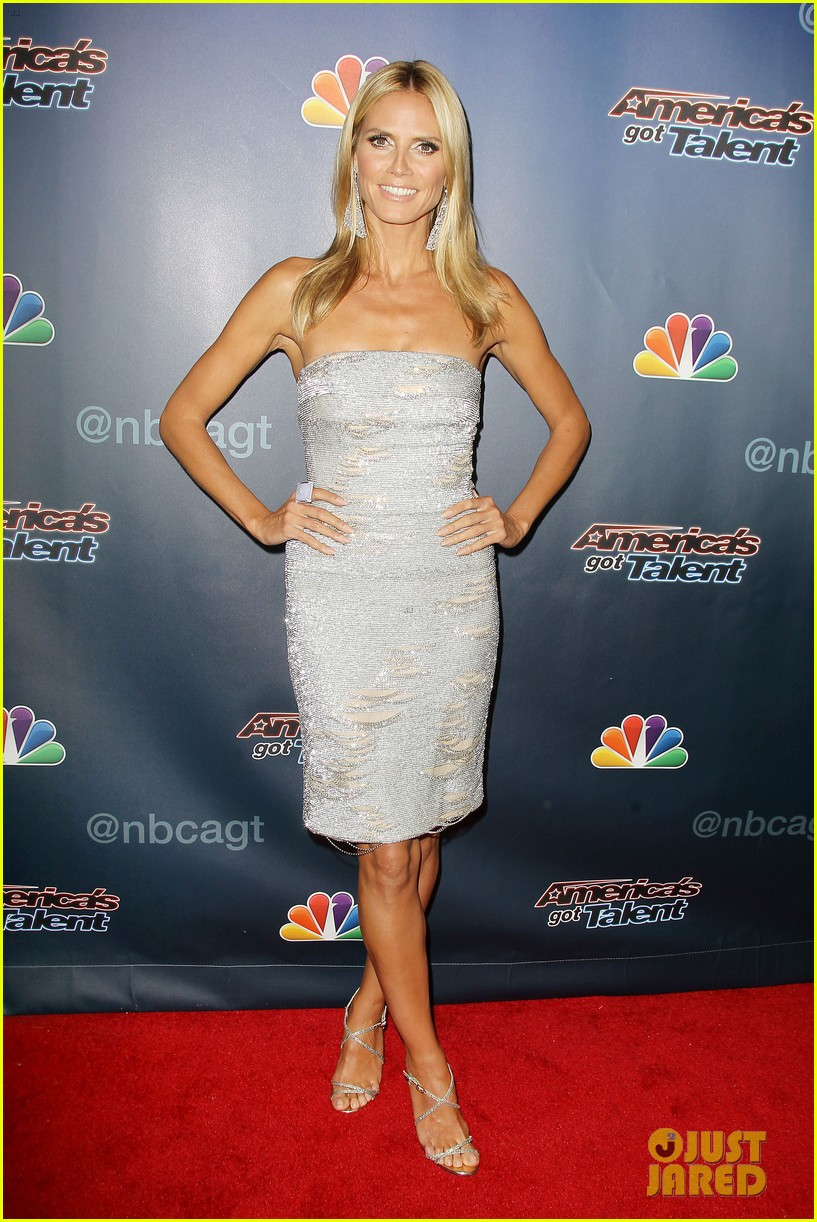 heidi klum keeps it busy in nyc before america's got talent quarter finals 21