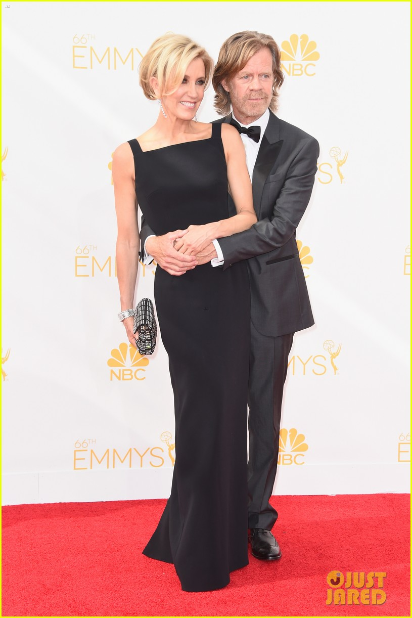 matt leblanc william h macy brings wives to emmys 2014 10