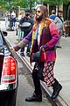 jared leto so colorful before his 30 seconds mars concert 01