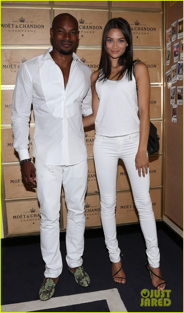 model lindsay ellingson tyson beckford enjoy us open 13