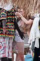 lindsay lohan wears sexy leopart swimsuit on vacation 05
