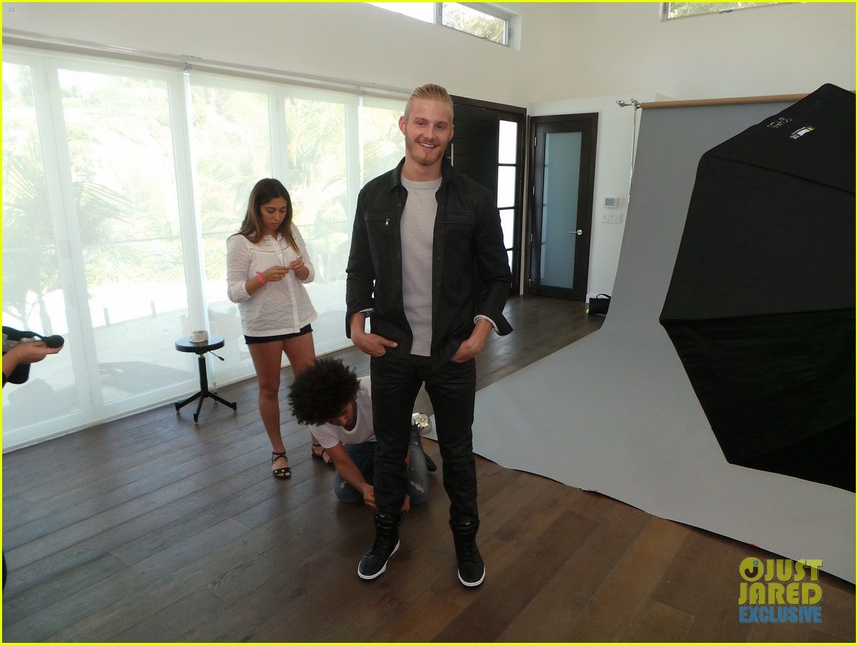 alexander ludwig jj spotlight behind the scenes photos 01