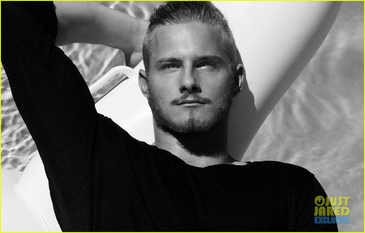 Game Stands Tall' For Alexander Ludwig's JJ Portraits (Exclusive Pics ...