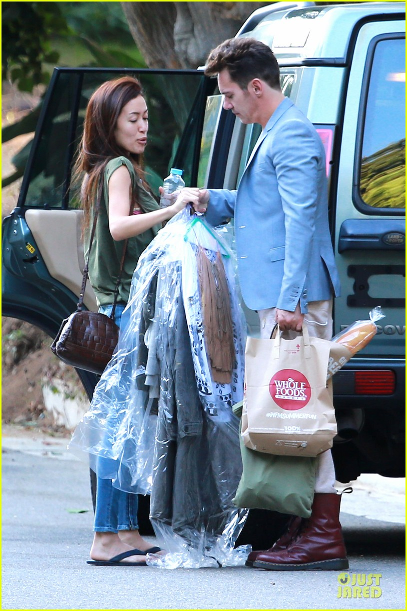 jonathan rhys meyers grabs groceries after another me hits theaters 03