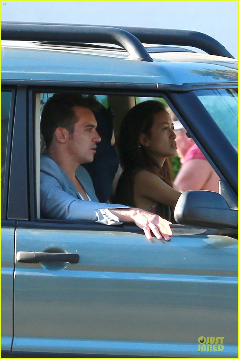 jonathan rhys meyers grabs groceries after another me hits theaters 193181624