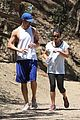 lea michele matthew paetz sweat it out 11
