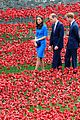 kate middleton prince william visit stunning ceramic poppy installation 06