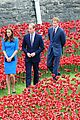 kate middleton prince william visit stunning ceramic poppy installation 17