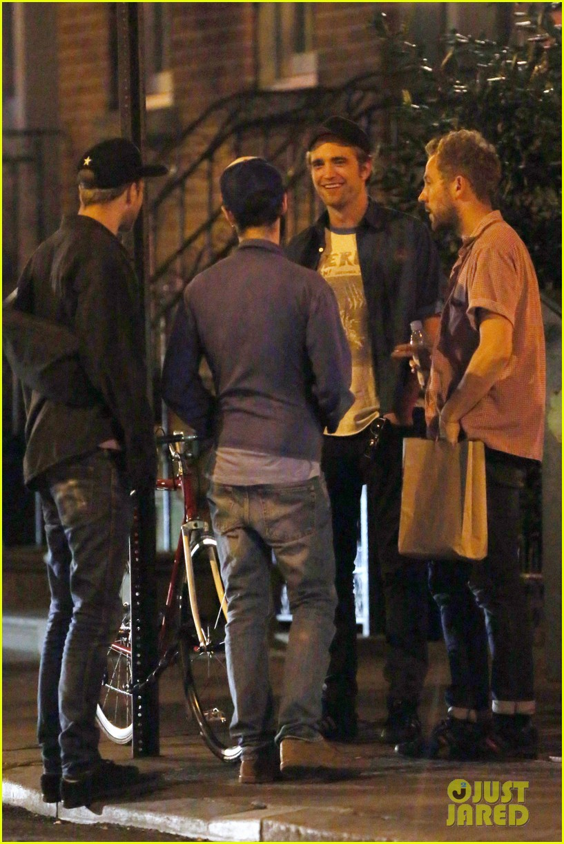 robert pattinson mini brit pack reunion in new york 173186187
