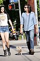 krysten ritter adam granduciel keep distance on stroll 01