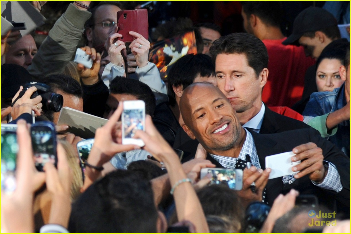 dwayne the rock johnson hercules berlin premiere 033180462
