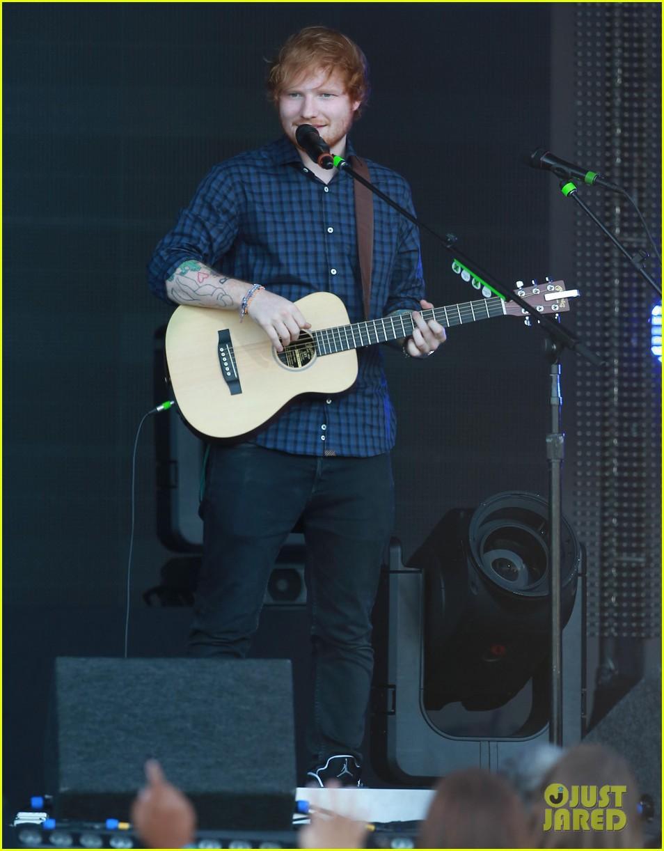 ed sheeran kimmel live performance 063185787