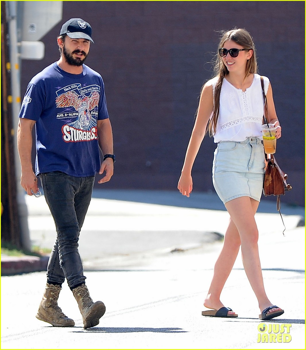 shia labeouf girlfriend mia goth lemonade lunch lovers 233186972