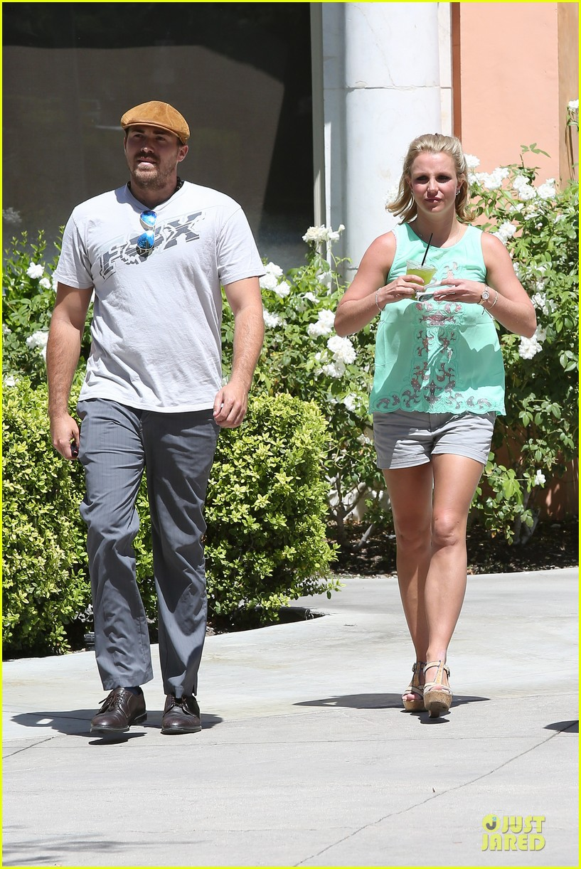 britney spears david lucado spend precious time together 053178843